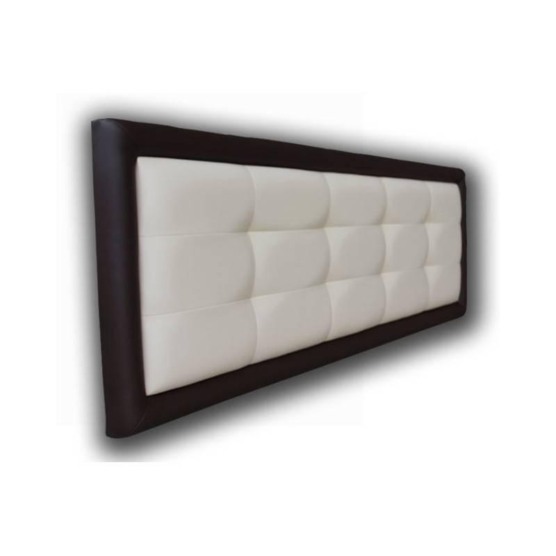 Cabecero Tablet Corto Blanco con Marco Negro Corto 106x85 OFERTON