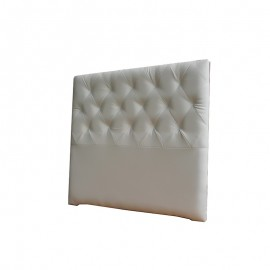 Cabecero Diamond Largo 151 x 125 cm Blanco OFERTON