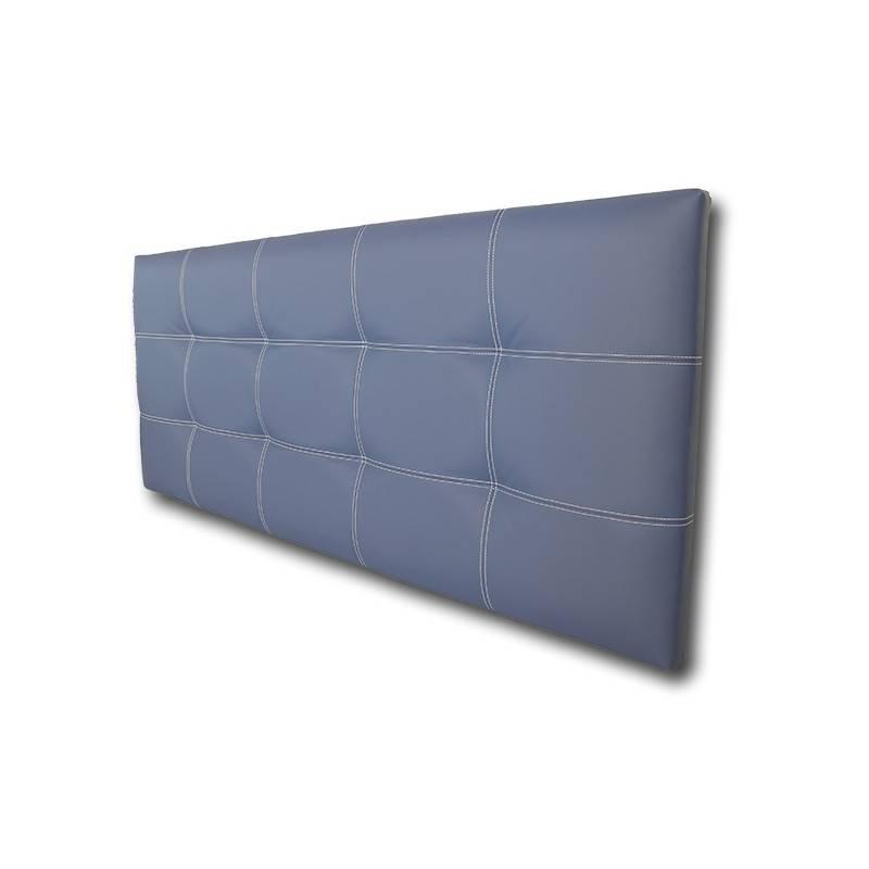 Cabecero Tablet 121x70 Polipiel Negro/Costura Vista Negro cod.0209
