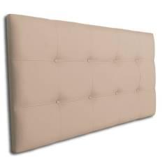 Cabecero Tablet 106 x 70 cm Crudo con Botones Crudo OFERTON