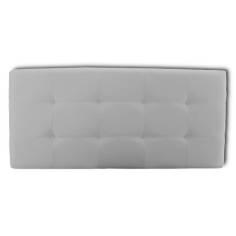 Cabecero Tablet 106 x 70 cm Blanco con Botones Blanco OFERTON