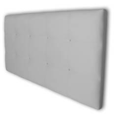 Cabecero Tablet 151 x 70 cm Blanco con cristales de Swarovski OFERTON
