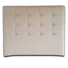Cabecero Tablet Largo Plata Botones Dorados 166x125 OFERTON