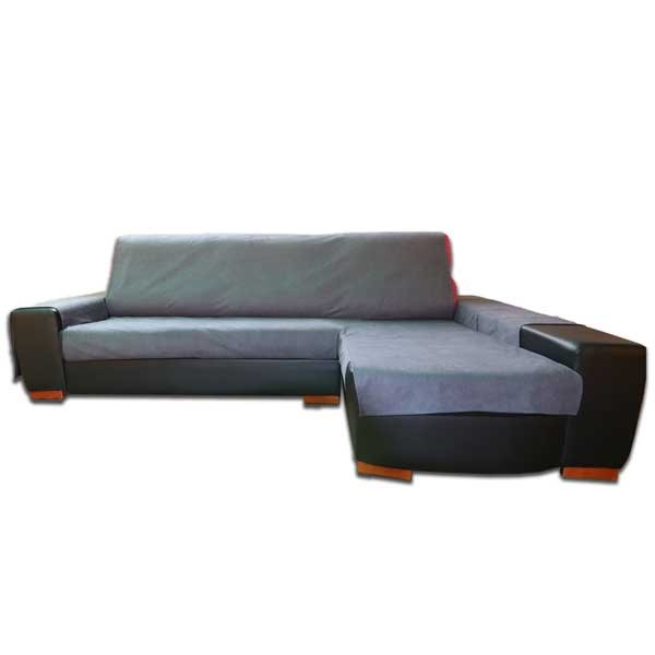 Funda de Chaise Longue Gris Antracita a Medida