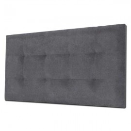 Cabecero Tablet 166 x 70 cm Tela Antimanchas Essence Gris Antracita OFERTON
