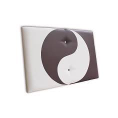 Cabecero Ying Yang 91 x 70 cm Blanco y Negro OFERTON