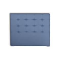 Cabecero Tablet Largo 136 x 125 cm Azul OFERTON