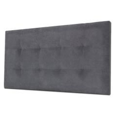 Cabecero Tablet 136 x 70 cm Tela Antimanchas Essence Gris Antracita OFERTON