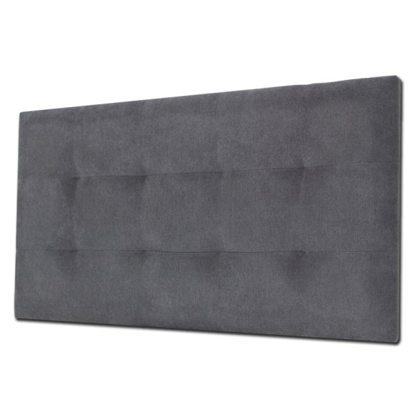Cabecero Tablet 136 x 70 cm Tela Antimanchas Essence Gris Antracita OFERTON