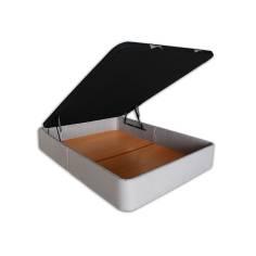 Canapé SERENA - Gran Capacidad 135 x 190 cm-Antimanchas Gris-claro-Tapa en 3D (+0 €)-
