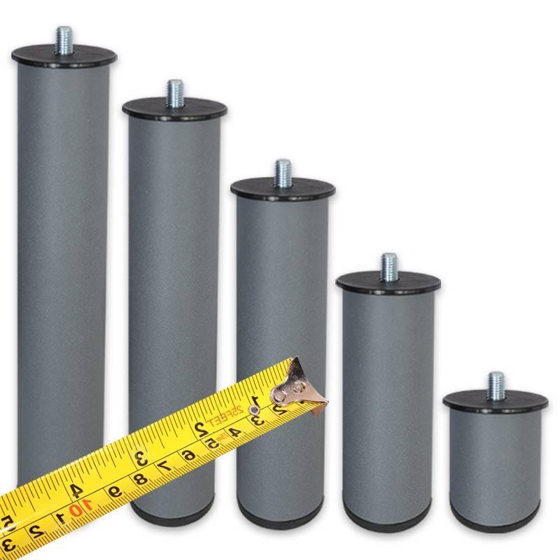 Patas a medida metálicas