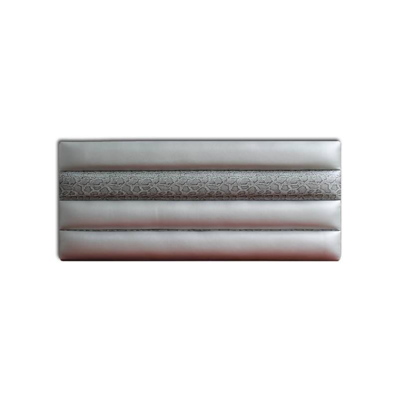 Cabecero Franklin plata y Combinado 166x70 OFERTON