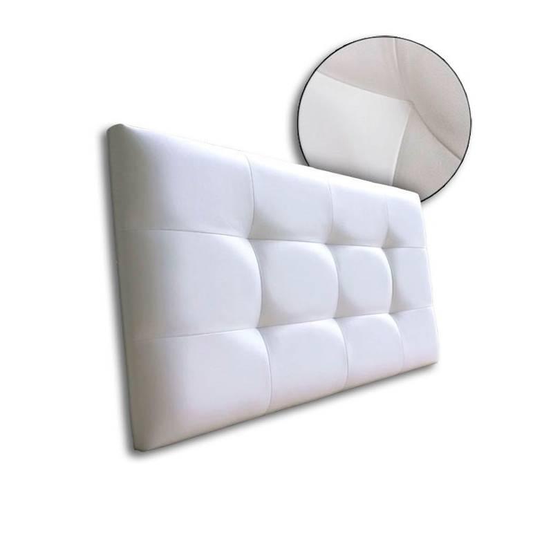Cabecero Tablet Polipiel Blanco